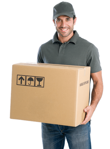 mover carrying moving box